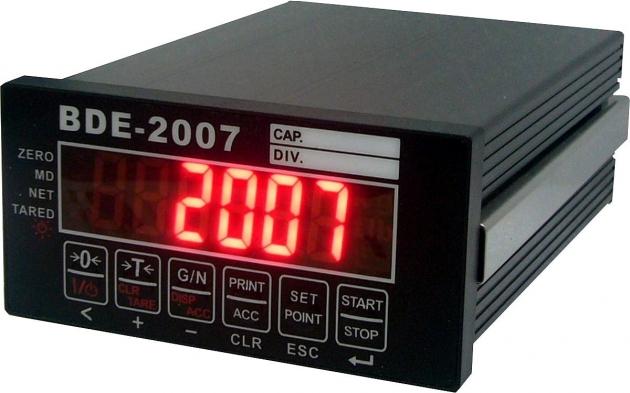 BDE-2007 Modbus Weighing Indicator & Controlle 1