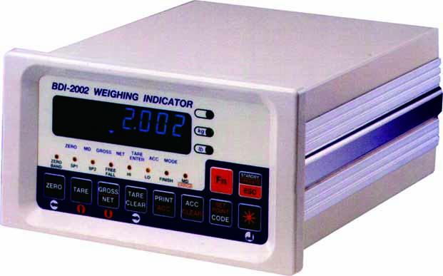 BDI-2002 Weighing Indicator & Controller 1