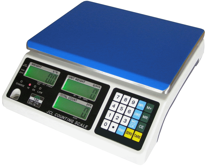 Counting Table Scale JCL 1