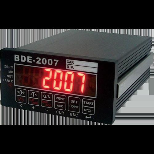 BDE 2007  Modbus<br>重量顯示控制器 1