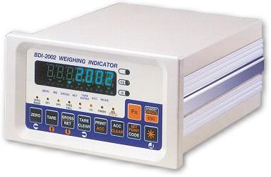 BDI 2002<br>重量顯示控制器 1