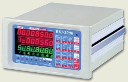 BDI 2006<br>重量顯示控制器 1