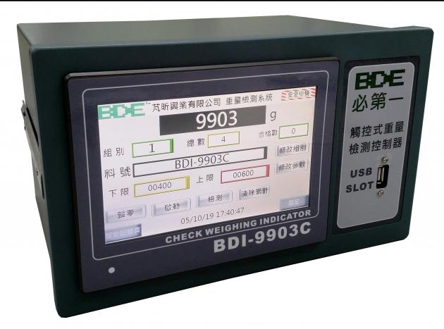 BDI-9903C<br>觸控式重量檢測控制器 1