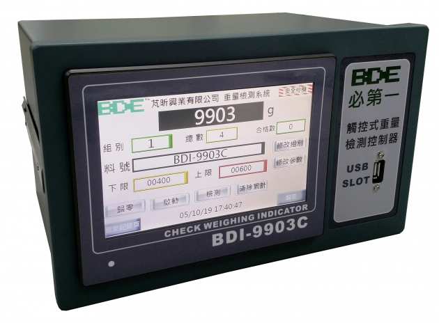 BDI-9903C Check Weighing Indicator & Controller (discontinued) 1